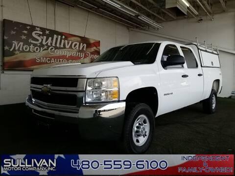 2010 Chevrolet Silverado 2500HD for sale at SULLIVAN MOTOR COMPANY INC. in Mesa AZ