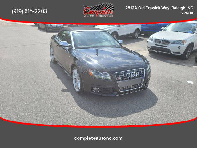 2012 Audi S5 for sale at Complete Auto Center , Inc in Raleigh NC