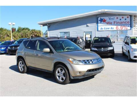 2005 Nissan Murano for sale at My Value Car Sales - Upcoming Cars in Venice FL