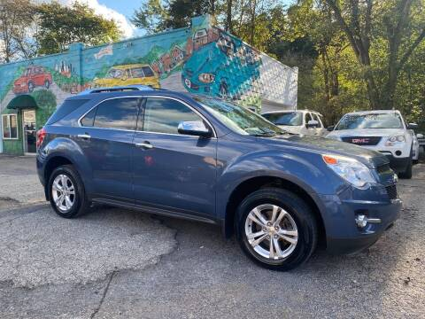 2012 Chevrolet Equinox for sale at Showcase Motors in Pittsburgh PA