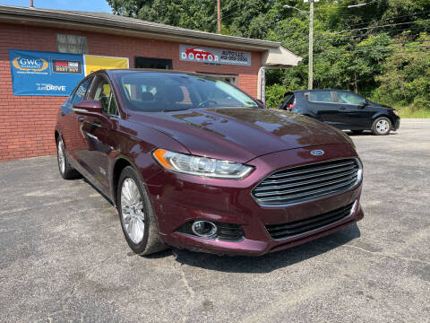 2013 Ford Fusion Energi for sale at Doctor Auto in Cecil PA