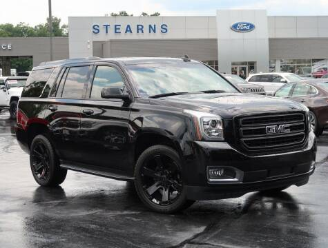 2020 GMC Yukon for sale at Stearns Ford in Burlington NC