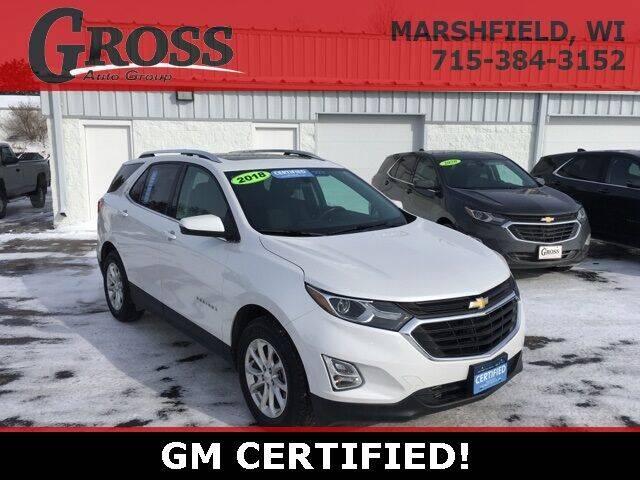2018 Chevrolet Equinox for sale at Gross Motors of Marshfield in Marshfield WI