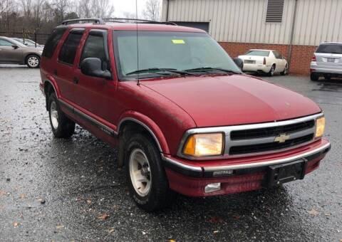 1996 Chevrolet Blazer for sale at Cobalt Cars in Atlanta GA