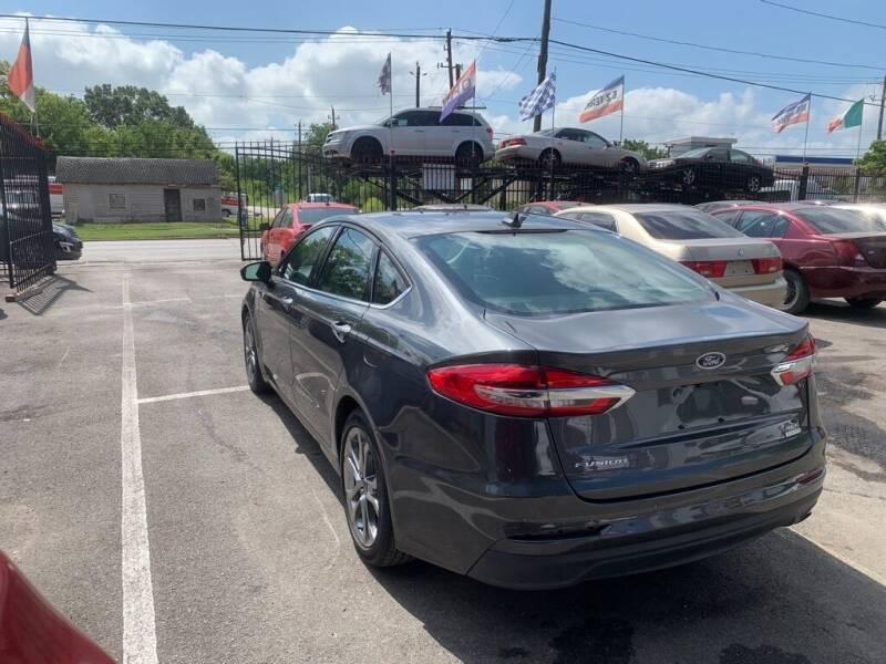 2020 Ford Fusion for sale at JMAC AUTO SALES in Houston TX