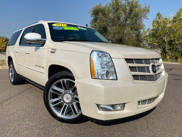 2012 Cadillac Escalade ESV for sale at UNITED Automotive in Denver CO