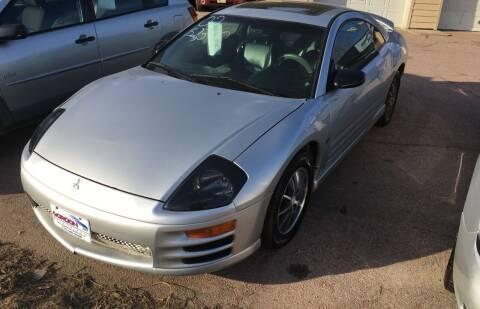 2002 Mitsubishi Eclipse for sale at Gordon Auto Sales LLC in Sioux City IA