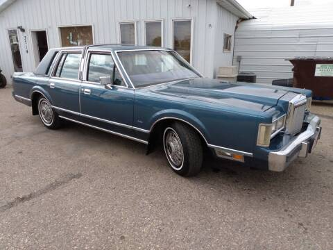 1985 Lincoln Town Car for sale at L & J Motors in Mandan ND