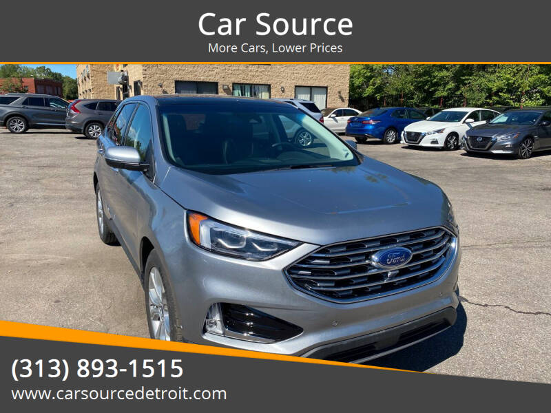 2020 Ford Edge for sale at Car Source in Detroit MI