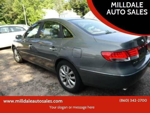 2008 Hyundai Azera for sale at MILLDALE AUTO SALES in Portland CT