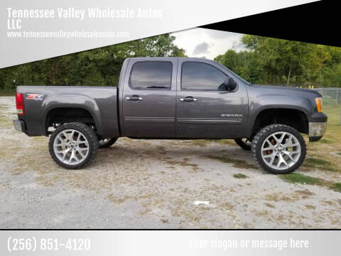 2010 GMC Sierra 1500 for sale at Tennessee Valley Wholesale Autos LLC in Huntsville AL