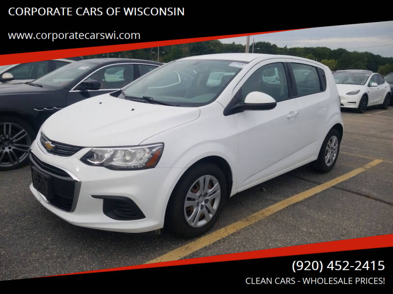 2017 Chevrolet Sonic for sale at CORPORATE CARS OF WISCONSIN in Sheboygan WI