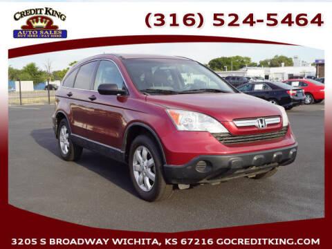 2009 Honda CR-V for sale at Credit King Auto Sales in Wichita KS