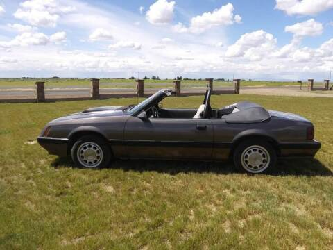 1985 Ford Mustang for sale at AFFORDABLY PRICED CARS LLC in Mountain Home ID