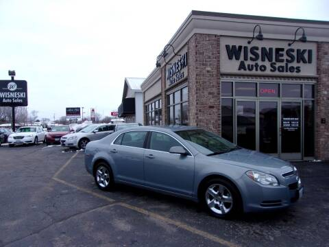 2009 Chevrolet Malibu for sale at Wisneski Auto Sales, Inc. in Green Bay WI