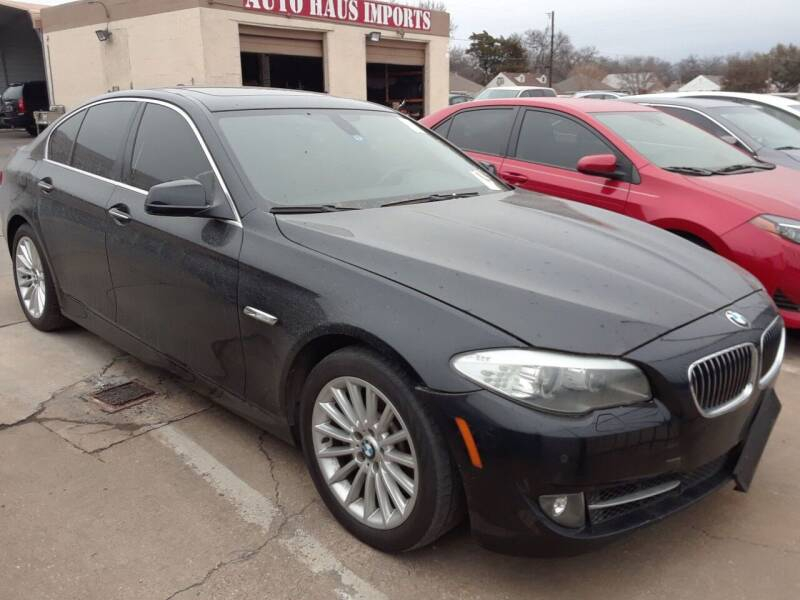 2012 BMW 5 Series for sale at Auto Haus Imports in Grand Prairie TX