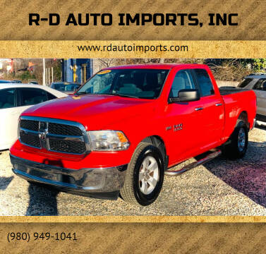 2014 RAM Ram Pickup 1500 for sale at R-D AUTO IMPORTS, Inc in Charlotte NC
