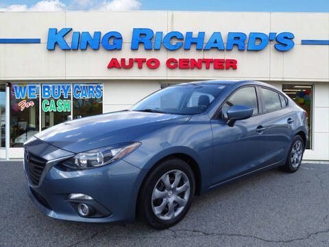 2015 Mazda MAZDA3 for sale at KING RICHARDS AUTO CENTER in East Providence RI
