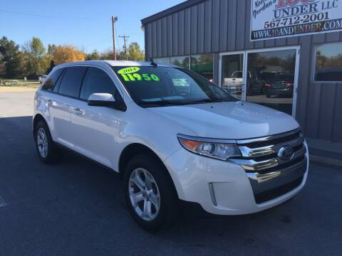 2014 Ford Edge for sale at KEITH JORDAN'S 10 & UNDER in Lima OH