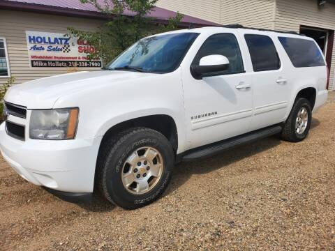 2010 Chevrolet Suburban for sale at Hollatz Auto Sales in Parkers Prairie MN