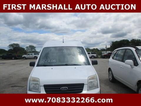 2012 Ford Transit Connect for sale at First Marshall Auto Auction in Harvey IL