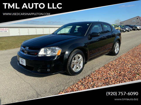 2013 Dodge Avenger for sale at TML AUTO LLC in Appleton WI