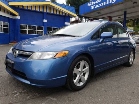 2007 Honda Civic for sale at Shoreline Family Auto Care And Sales in Shoreline WA
