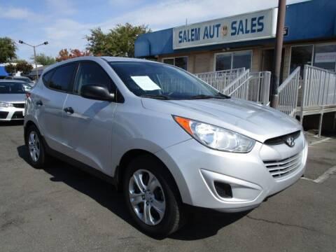 2012 Hyundai Tucson for sale at Salem Auto Sales in Sacramento CA