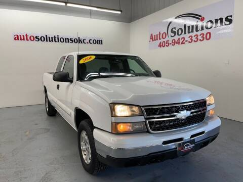 2006 Chevrolet Silverado 1500 for sale at Auto Solutions in Warr Acres OK