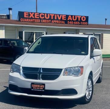 2015 Dodge Grand Caravan for sale at Executive Auto in Winchester VA