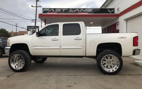 2013 Chevrolet Silverado 1500 for sale at FAST LANE AUTO SALES in San Antonio TX