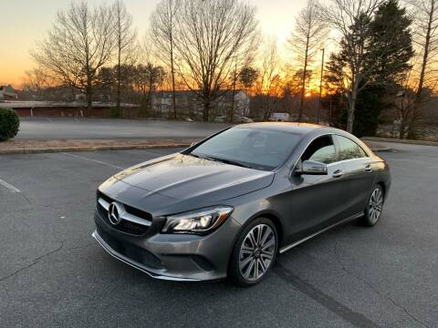 2018 Mercedes-Benz CLA for sale at SMZ Auto Import in Roswell GA