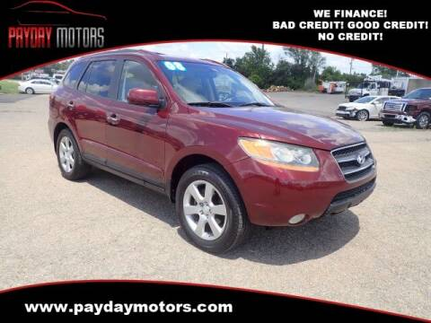 2008 Hyundai Santa Fe for sale at Payday Motors in Wichita KS