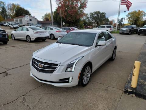 2017 Cadillac ATS for sale at Clare Auto Sales, Inc. in Clare MI