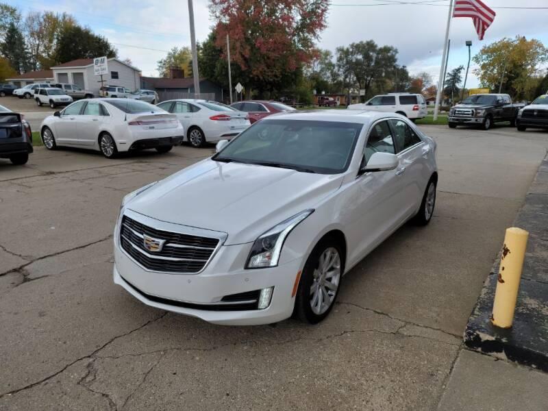 2017 Cadillac ATS for sale at Clare Auto Sales, Inc. in Clare MI