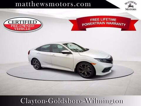 2019 Honda Civic for sale at Auto Finance of Raleigh in Raleigh NC