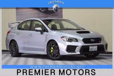 2019 Subaru WRX for sale at Premier Motors in Hayward CA