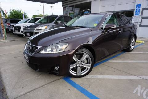 2012 Lexus IS 250 for sale at Industry Motors in Sacramento CA