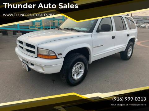 2000 Dodge Durango for sale at Thunder Auto Sales in Sacramento CA