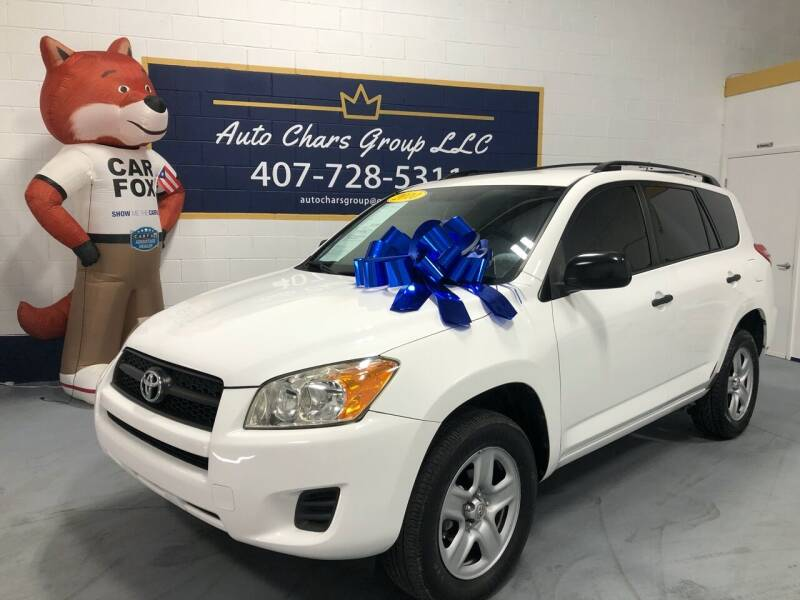 2010 Toyota RAV4 for sale at Auto Chars Group LLC in Orlando FL