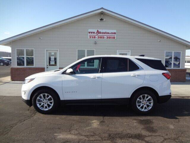 2018 Chevrolet Equinox for sale at GIBB'S 10 SALES LLC in New York Mills MN
