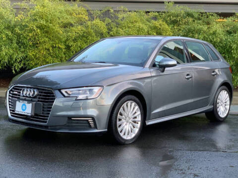 2017 Audi A3 Sportback e-tron for sale at GO AUTO BROKERS in Bellevue WA
