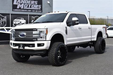 2019 Ford F-350 Super Duty for sale at Landers Motors in Gresham OR