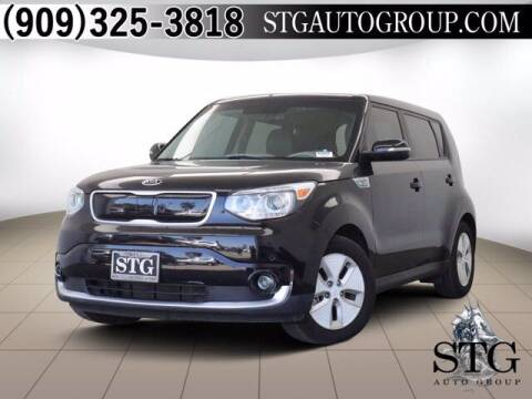 2016 Kia Soul EV for sale at STG Auto Group in Montclair CA