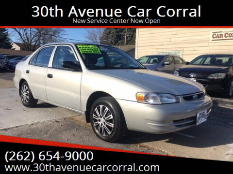 2000 Toyota Corolla for sale at 30th Avenue Car Corral in Kenosha WI
