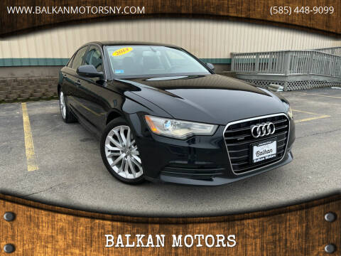 2014 Audi A6 for sale at BALKAN MOTORS in East Rochester NY