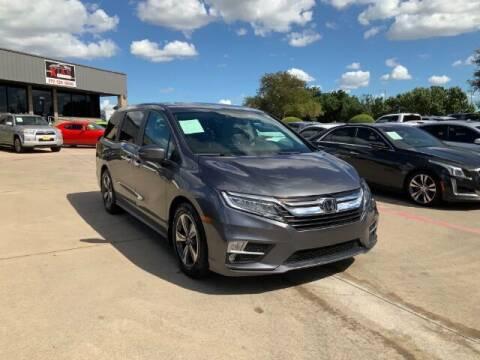 2018 Honda Odyssey for sale at KIAN MOTORS INC in Plano TX