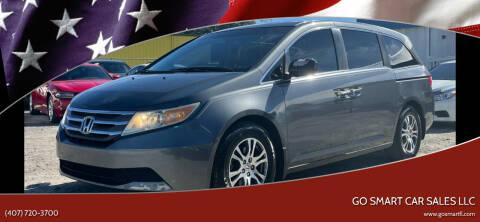2011 Honda Odyssey for sale at Go Smart Car Sales LLC in Winter Garden FL