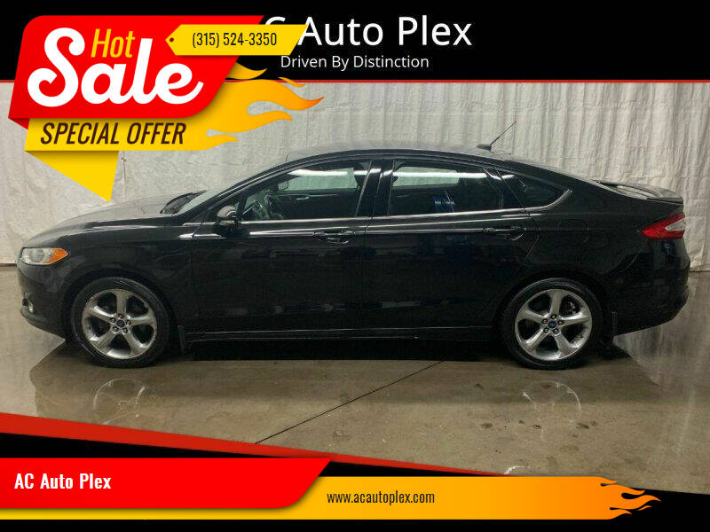 2013 Ford Fusion for sale at AC Auto Plex in Ontario NY