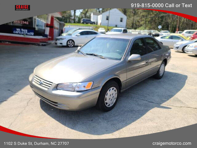 1999 Toyota Camry for sale at CRAIGE MOTOR CO in Durham NC